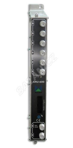 ALCAD AMU-600_ aktivní slučovač do hlavní stanice, 6 vstupů