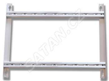 ALCAD SP-123 nový hliníkový rám pro 7 moduly a zdroj