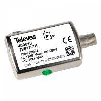 Televes 400610_ UHF zesilovač 13 dB