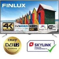 Finlux TV65FUE8160 - HDR UHD T2 SAT WIFI SKYLINK LIVE