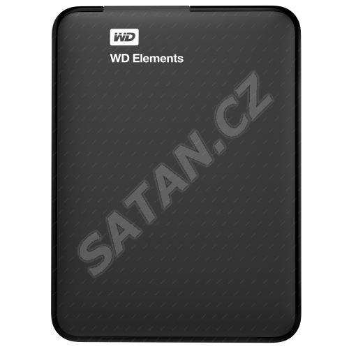 """Externí disk Western Digital 2.5"""" Elements Portable 1TB černý, USB 3.0"""