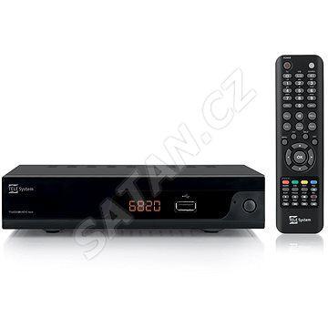 DVB-T2 přijímač TeleSystem TS6820 T2 HEVC Twin tuner