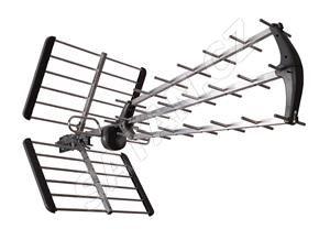 TESLA TE-345 venkovní anténa pro příjem DVB-T2 signálu, 470-790 MHZ, 15 dBi