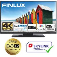 Finlux TV43FUD7061 - UHD SAT/ T2 SMART WIFI SKYLINK LIVE-