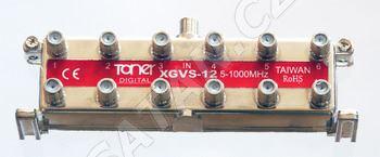 TONER XGVS-12_ rozbočovač 1/12, 13 dB