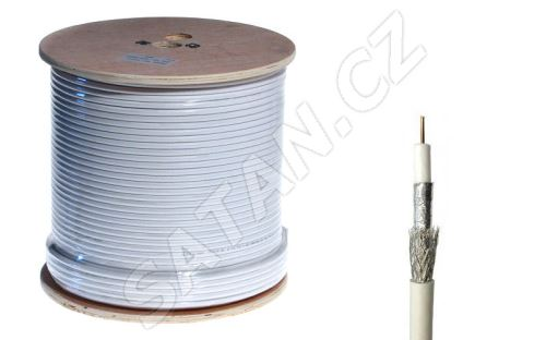 Koax. kabel KH21D - 250DRL černý PE