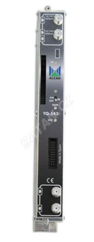 ALCAD TQ-543_ dvojitý DVB-S, S2 / DBV-C transmodulator, CI