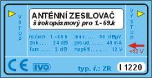 Zesilovač I1220  1-60k.