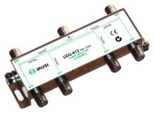 IKUSI UDU-612_ rozbočovač, 6 výst. 11,8 dB, DC pass