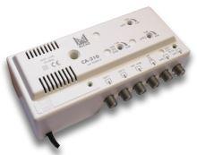 ALCAD CA-310 3 vstupy UHF-UHF-BIII/BI, 2 výstupy, G=42/35 dB, reg., .