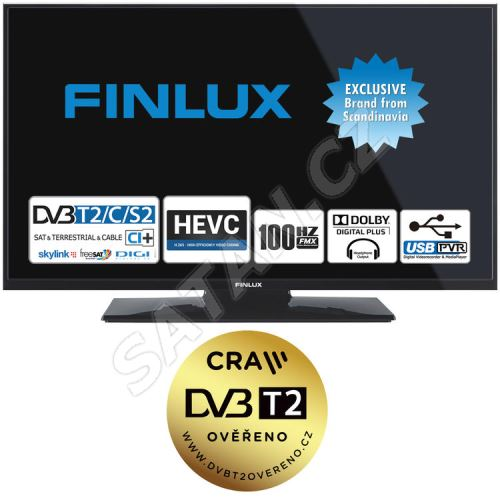Finlux TV24FHD4760 -T2 SAT-