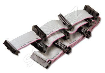 ALCAD LS-207 náhradní propojovací napájecí/datový kabel pro TP přijímače (pro 11 modulů a zdroj)