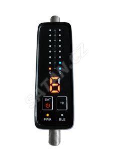 TESLA SMART FINDER, vyhledávač satelitního signálu, ovládání přes aplikaci, Bluetooth