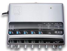 ALCAD CF-512 5 vstupů (UHF-UHF-UHF-BIII-BI/FM), G=40 dB, reg.,115 dBµV