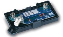 předzesilovač BR-411_ UHF předzes. do antén BU, napájení 12V, F-konektory