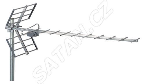 ALCAD BU-116 UHF, kanál 21-60, LTE verze BU-119