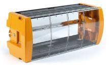 TELEVES 5069 uzamykatelná plastová skříň pro 14 modulů a zdroj