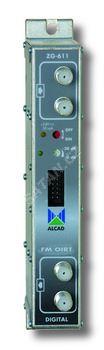 ALCAD ZG-611* kanálový zesilovač pro BI, BIII a S pásmo , G=52 dB