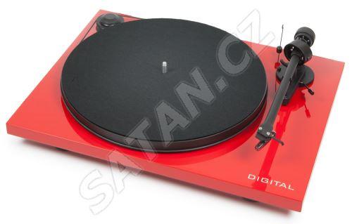 PRO-JECT ESSENTIAL II DIGITAL + OM5E red