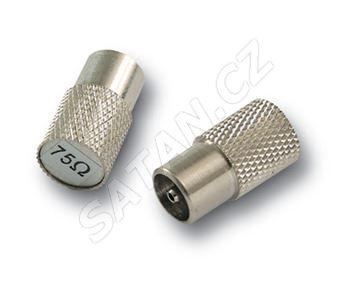 ALCAD RM-075 zakončovací odpor 75 ohm (pouze pro starou řadu ZG/ZP)