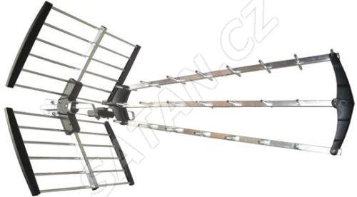 Solight venkovní DVB-T anténa, 14dB, UHF, 21. - 69. kanál