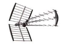 TESLA TE-346 venkovní anténa pro příjem DVB-T2 signálu, 470-790 MHZ, 17 dBi