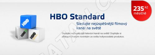 Aktivace balíčku HBO STANDARD na 1 měsíc