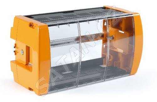 TELEVES 5072 uzamykatelná plastová skříň pro 10 modulů a zdroj