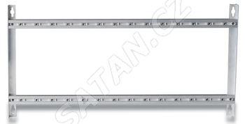 ALCAD SP-126 nový hliníkový rám pro 12 modulů a zdroj