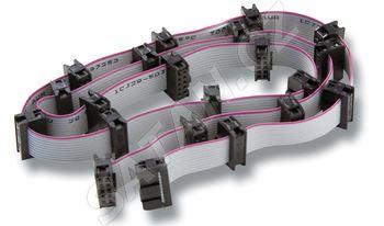 ALCAD LT-107 napájecí sběrnice pro 18 modulů