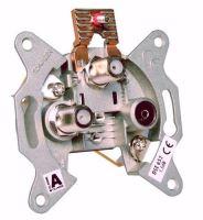 Účastnická koncová zásuvka Schwaiger pro dvoukabelovou techniku DSE 652