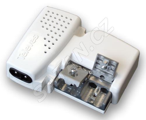 560541_ zesilovače Picokom, 1 výst, (47-400, 470-790 MHz), G=12 dB (VHF), 24 dB (UHF), AGC, LTE