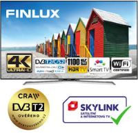 Finlux TV49FUE8160 - HDR UHD T2 SAT WIFI SKYLINK LIVE-
