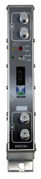 ALCAD ZG-211 kanálový zesilovač pro FM pásmo CCIR, G=53 dB, výst. 2x109 dBµV