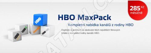 Aktivace balíčku HBO MAX PACK na 1 měsíc