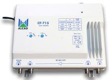 ALCAD CF-715 G=47 dB, aktivní.zpětný kanál 5-65 MHz, reg. zes. a náklonu