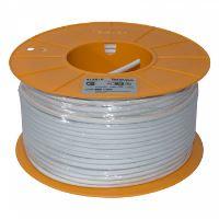 413910_ LSFH B2ca koax. kabel 6,9mm, šedý, PVC, vnitř. vodič 1,05mm Cu, opletení Cu, balení 100m