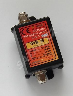 Zesilovač pro DVB-T/T2 21-60.k.30dB DVB-30
