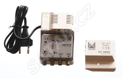 ALCAD MD-410 mono modulátor pro pásmo UHF