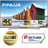 Finlux TV55FUD7061 - UHD SAT/ T2 SMART WIFI SKYLINK LIVE