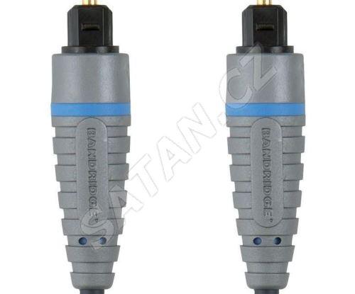 Bandridge digitální optický audio kabel, 5m, BAL5605