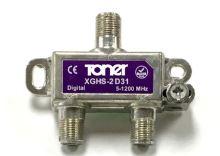 XGHS-2D31_ rozbočovač 1/2, 3.8 dB