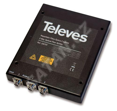 TELEVES 235701_ optický rozbočovač do 2 směrů