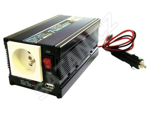 Měnič napětí 12V/230V 300W