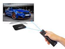 TESLA TEH-500 PLUS, Hydridní DVB-T2 HEVC FTA přijímač/MediaBox Android KODI