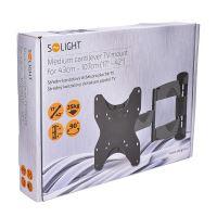 """Solight střední konzolový držák pro ploché TV od 43cm - 107cm (17"""" - 42"""")"""