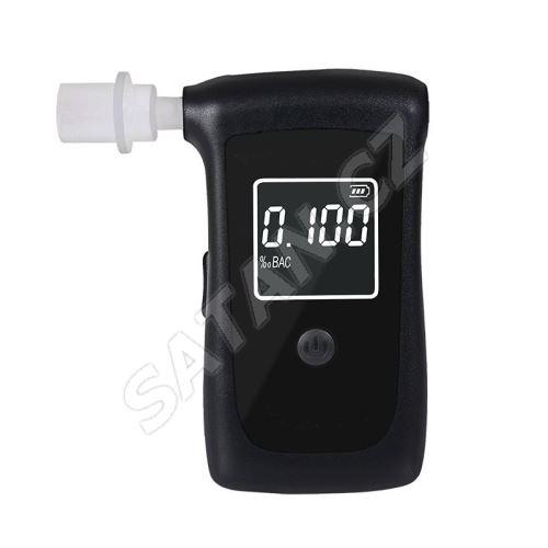 Solight alkohol tester, profesionální Fuel Cell, 0,0 - 4,0‰ BAC,citlivost 0,008‰