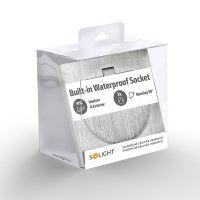 Solight vestavná podlahová zásuvka, IP55