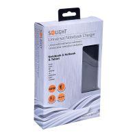 Solight univerzální zdroj pro netbooky a notebooky, 48W, 7 koncovek, automatický