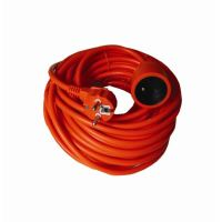 Solight prodlužovací přívod - spojka, 1 zásuvka, 30 m, 3 x 1,5mm2, oranžová